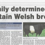 "Article in ""Three Counties Farmer"""